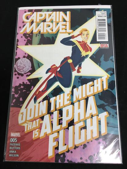 Captain Marvel #5 Comic Book from Amazing Collection