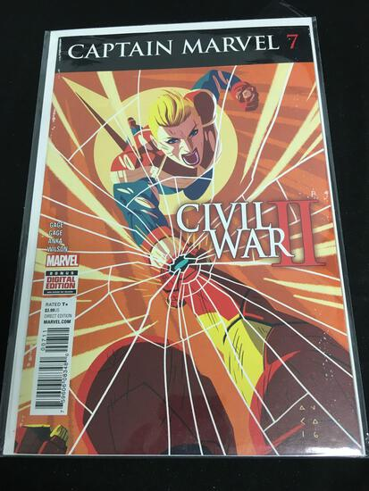 Captain Marvel #7 Comic Book from Amazing Collection