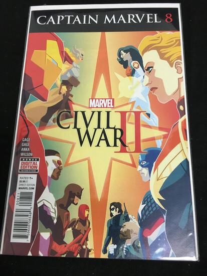 Captain Marvel #8 Comic Book from Amazing Collection