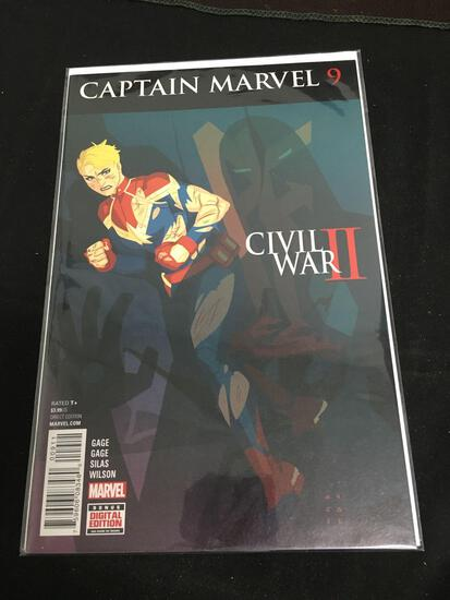 Captan Marvel #9 Comic Book from Amazing Collection