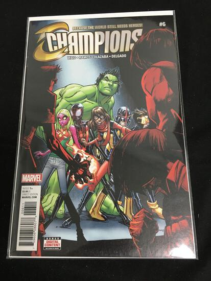 Champions #6 Comic Book from Amazing Collection