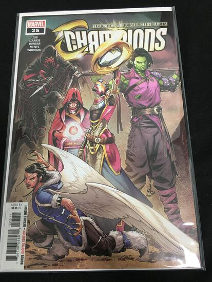 Champions #25 Comic Book from Amazing Collection