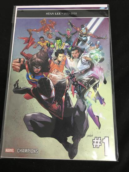 Champions #1 Comic Book from Amazing Collection