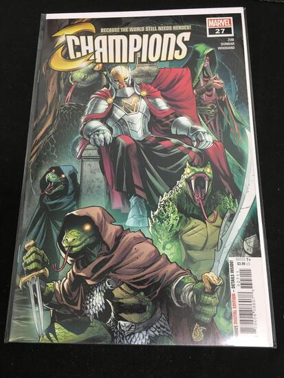 Champions #27 Comic Book from Amazing Collection