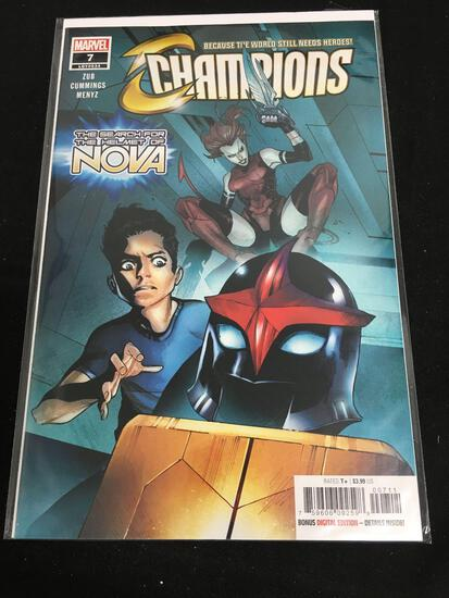 Champions #7 Comic Book from Amazing Collection