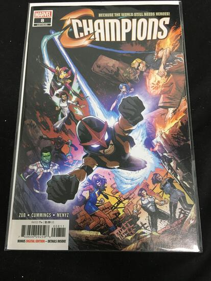 Champions #8 Comic Book from Amazing Collection