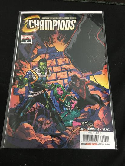 Champions #9 Comic Book from Amazing Collection