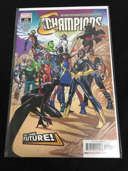 Champions #10 Comic Book from Amazing Collection