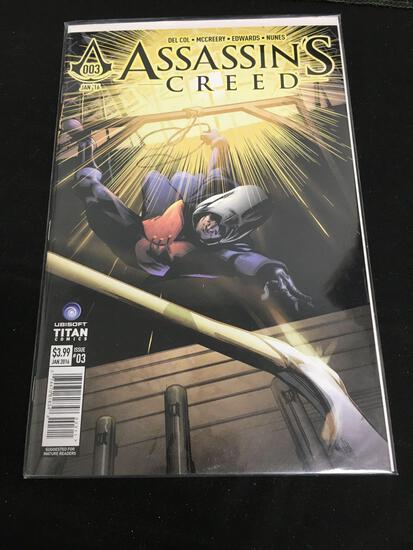 Assassin's Creed #3 Comic Book from Amazing Collection