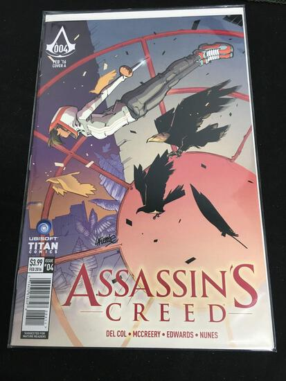Assassin's Creed #4 Comic Book from Amazing Collection