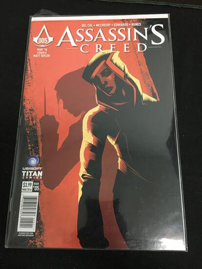 ASsassin's Creed #5 Comic Book from Amazing Collection
