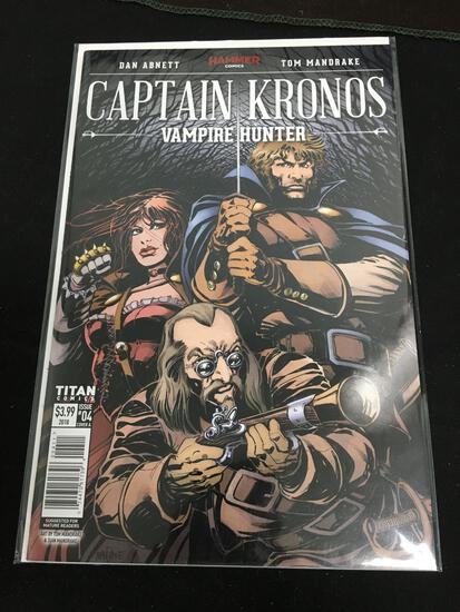Captain Kronos #4 Comic Book from Amazing Collection