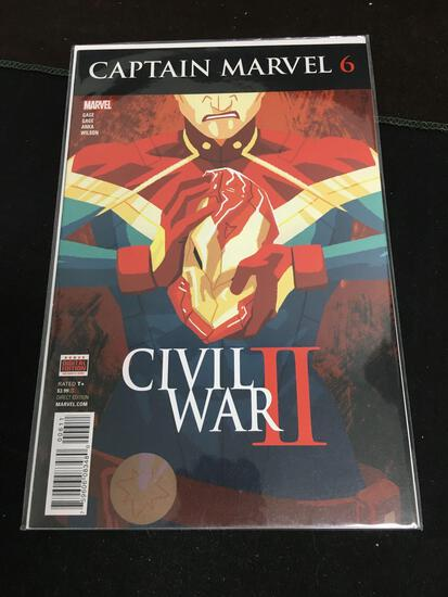Captain Marvel #6 Comic Book from Amazing Collection