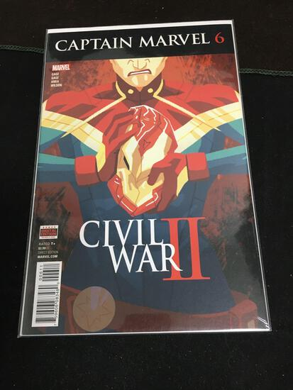 Captain Marvel #6 Comic Book from Amazing Collection B