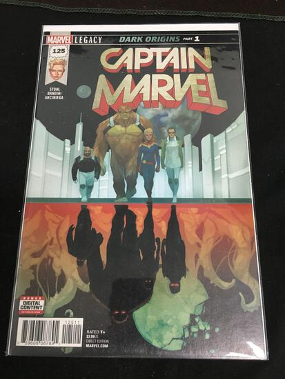 Captain Marvel #125 Comic Book from Amazing Collection'