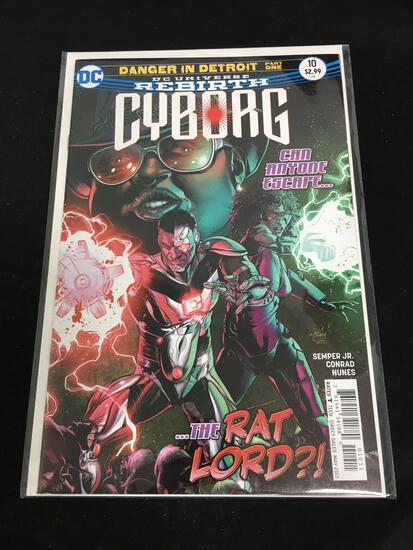 Cyborg #10 Comic Book from Amazing Collection