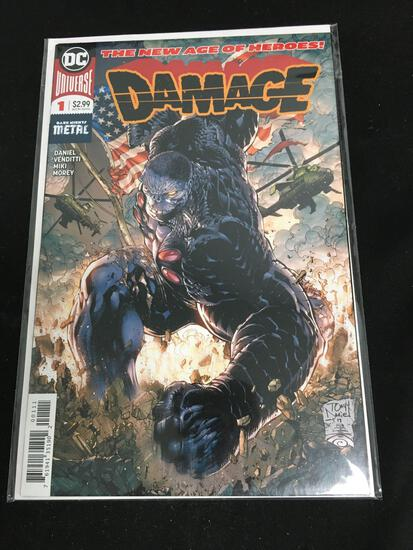 Damage #1 Comic Book from Amazing Collection