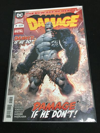 Damage #7 Comic Book from Amazing Collection