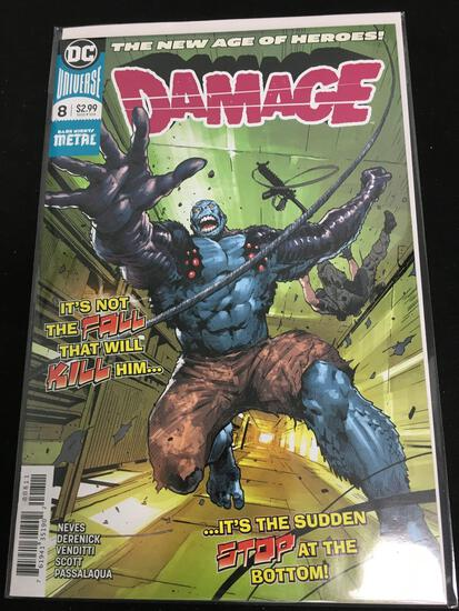 Damage #8 Comic Book from Amazing Collection