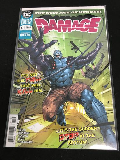 Damage #8 Comic Book from Amazing Collection B