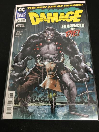 Damage #9 Comic Book from Amazing Collection