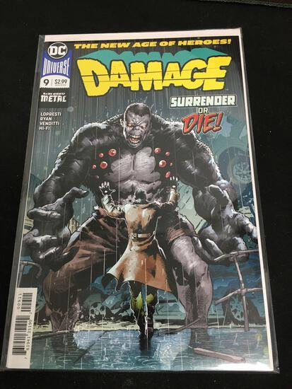 Damage #9 Comic Book from Amazing Collection B