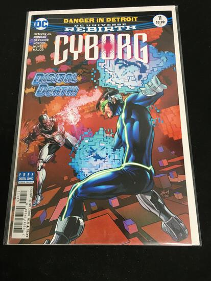 Cyborg #11 Comic Book from Amazing Collection