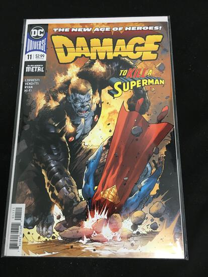 Damage #11 Comic Book from Amazing Collection