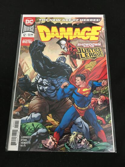 Damage #12 Comic Book from Amazing Collection