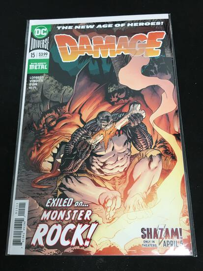 Damage #15 Comic Book from Amazing Collection