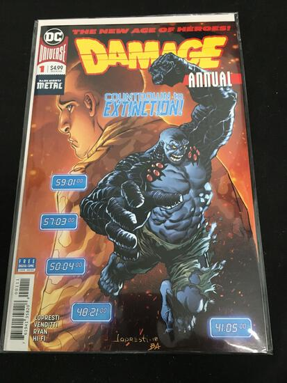 Damage Annual #1 Comic Book from Amazing Collection