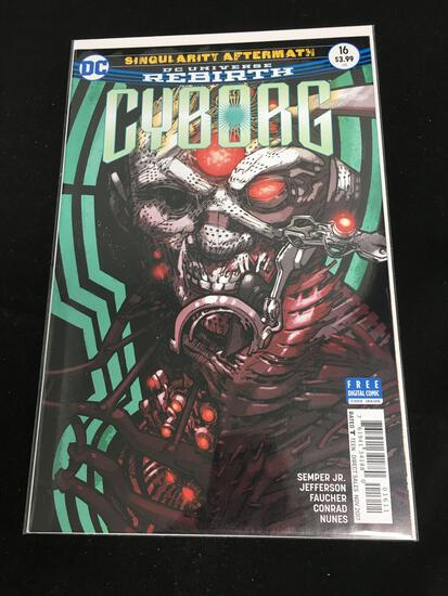 Cyborg #16 Comic Book from Amazing Collection