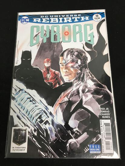Cyborg #18 Comic Book from Amazing Collection