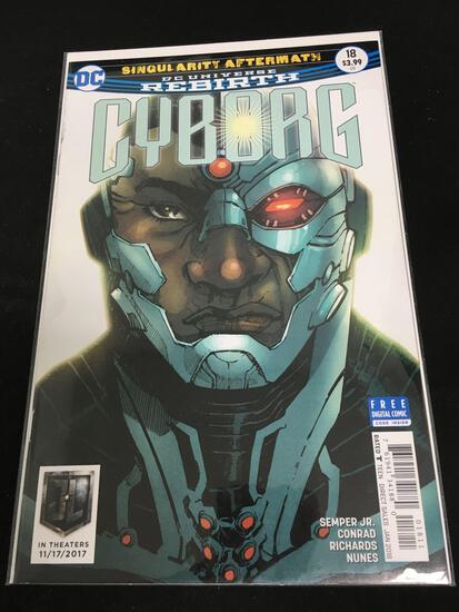 Cyborg #18B Comic Book from Amazing Collection