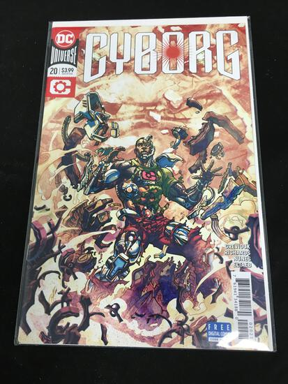 Cyborg #20 Comic Book from Amazing Collection