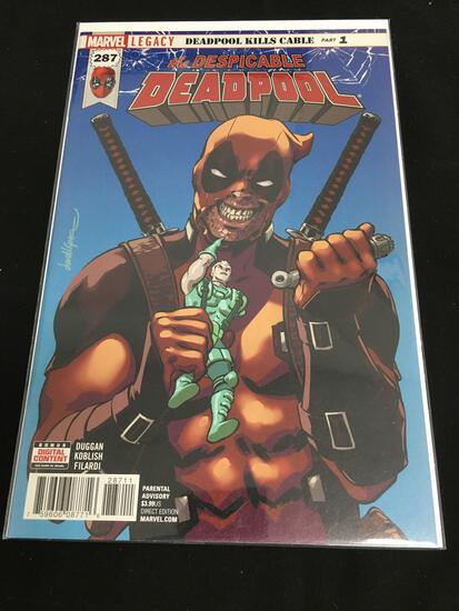 Deadpool #287 Comic Book from Amazing Collection B