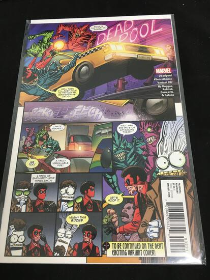 Deadpool #32 Secret Comic Variant Comic Book from Amazing Collection