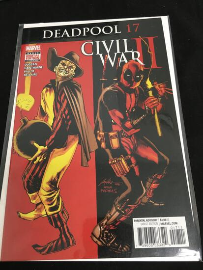 Deadpool #17 Comic Book from Amazing Collection