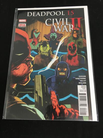 Deadpool #15 Comic Book from Amazing Collection