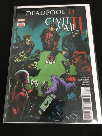 Deadpool #14 Comic Book from Amazing Collection