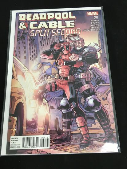 Deadpool & Cable Split Second #2 Comic Book from Amazing Collection