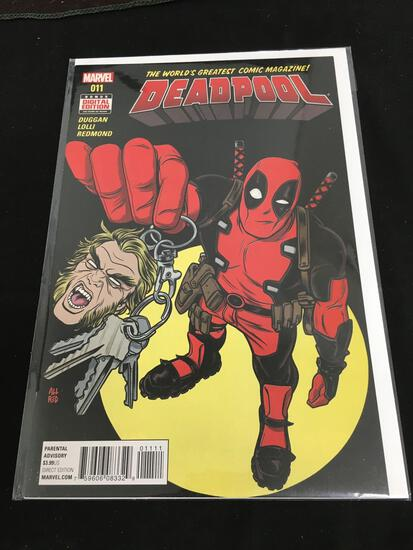 Deadpool #11 Comic Book from Amazing Collection B