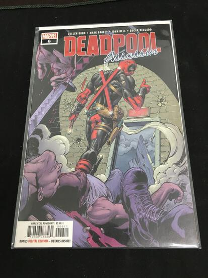 Deadpool Assasin #6 Comic Book from Amazing Collection
