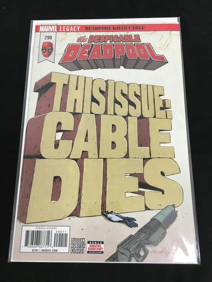 Deadpool #290 Comic Book from Amazing Collection