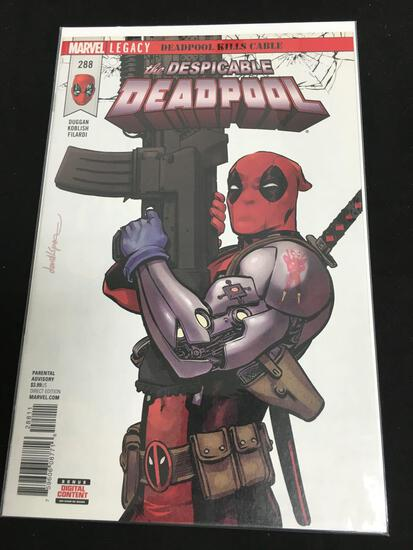 Deadpool #288 Comic Book from Amazing Collection