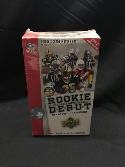 Factory Sealed Upper Deck 2006 Football Rookie Debut Hobby Box 8 Pack Box