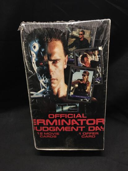 Factory Sealed Official Terminator Judgement Day Hobby Box Wow