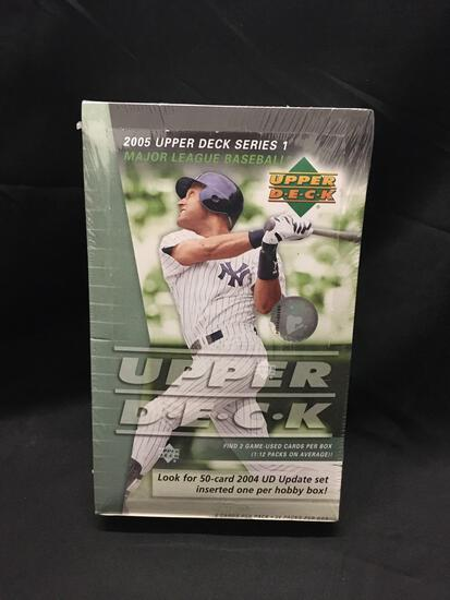 Factory Sealed Upper Deck 2005 Baseball Series 1 Hobby Box 24 Pack Box