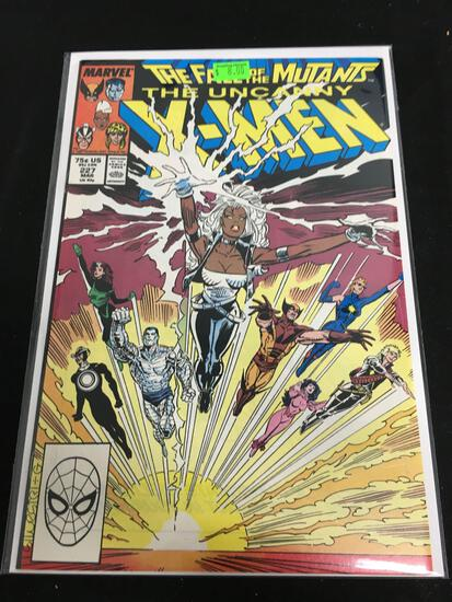 The Uncanny X-Men #227 Comic Book from Amazing Collection B