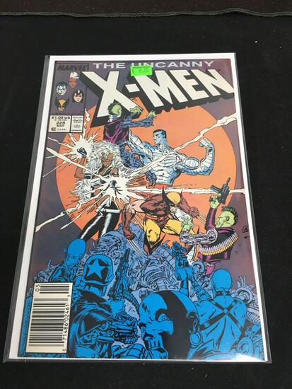 The Uncanny X-Men #229 Comic Book from Amazing Collection